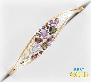 браслет из розового золота